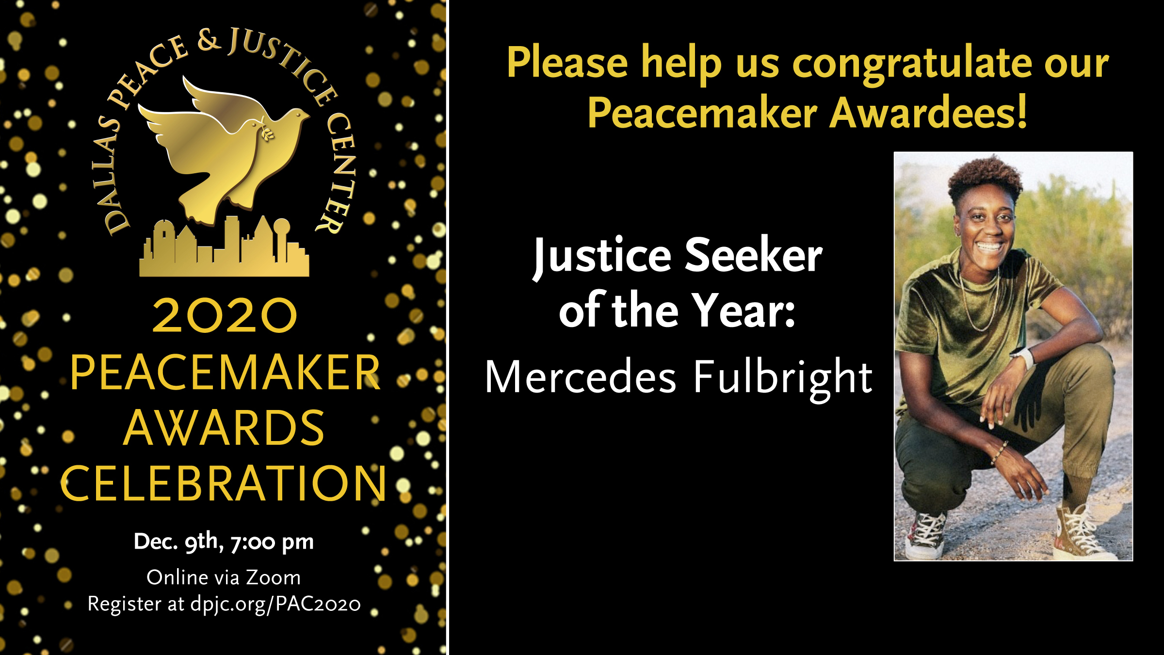 Peacemaker Awards Celebration